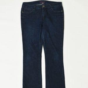 Tommy Hilfiger Regular 12R Blue   Flare Cotton Sol